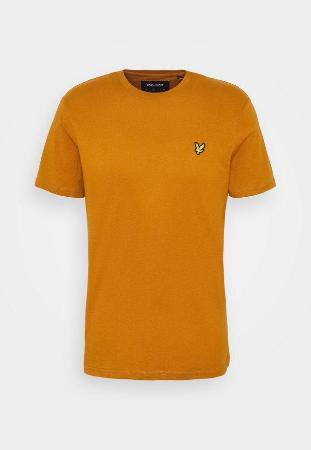 T-shirt basic - caramel