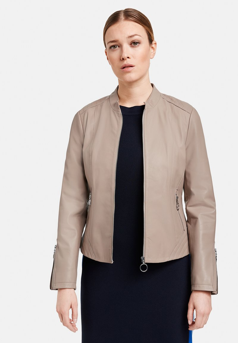 Gerry Weber - Leather jacket - toffee