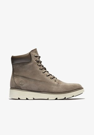 KEELEY  - Lace-up ankle boots - olive nubuck