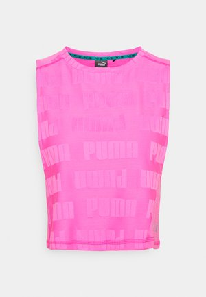 TRAIN FIRST MILE XTREME TANK - Camiseta de deporte - luminous pink