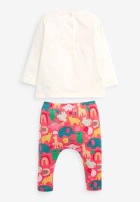 Next - SET - Leggings - Trousers - multi-coloured - 1