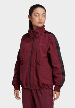 Sports jacket - burgundy