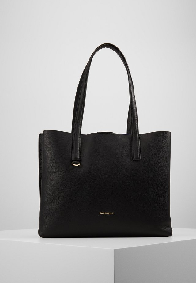 MATINEE - Shoppingveske - noir/curacao