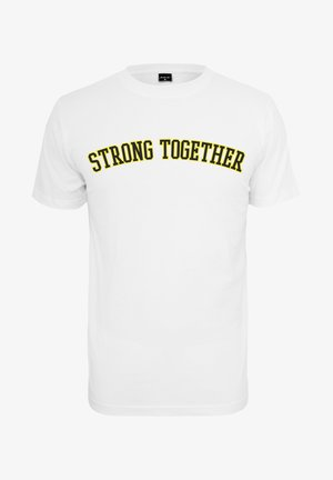 STRONG TOGETHER - Printtipaita - white