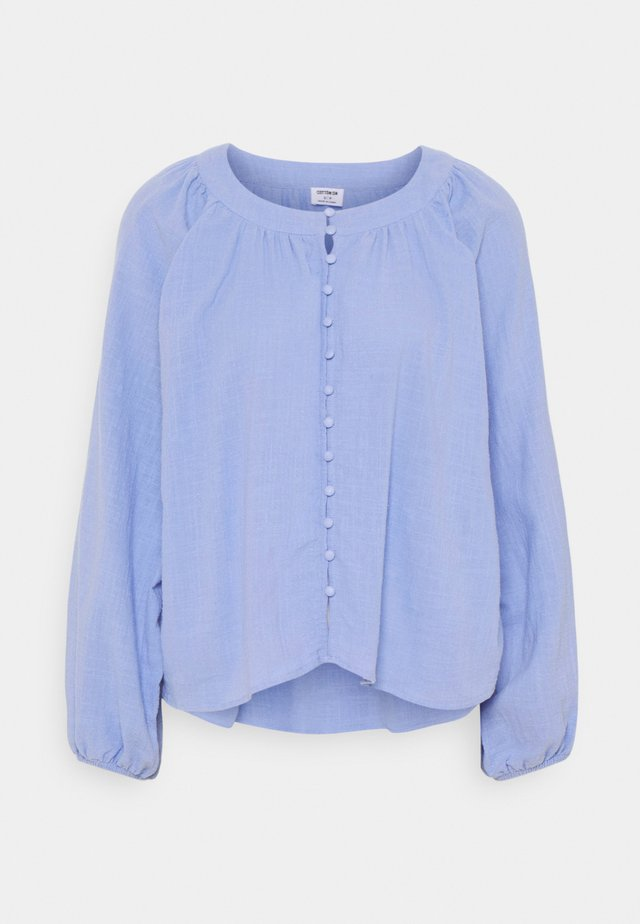 SMOCK BLOUSE - Pusero - powder blue