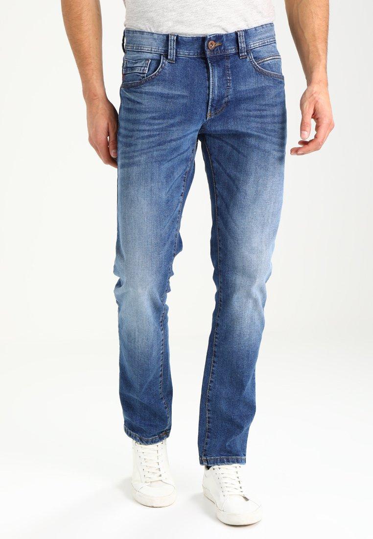camel active - 9Z54 HOUSTON - Straight leg jeans - stone blue
