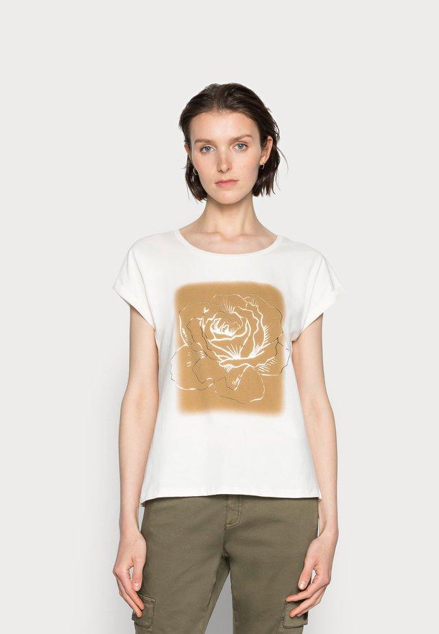 IVANA - Print T-shirt - fennel seed
