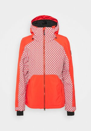 ADELITE JACKET - Snowboard jacket - red/white