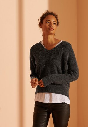 ISABELLA SLOUCH - Maglione - charcoal mix marl