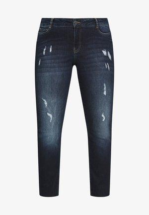 JRFIVEADIA DB ANKLE - Skinny džíny - dark blue denim