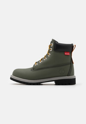 PREMIUM UNISEX - Lace-up ankle boots - dark green