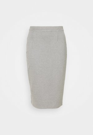 MIDI SKIRT - Pencil skirt - grey marl