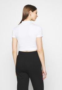 Even&Odd - 2 PACK - Jednoduché triko - black/white - 2