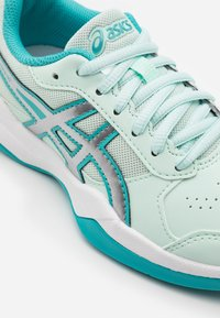 ASICS - GEL-GAME - Clay court tennis shoes - bio mint/pure silver - 5