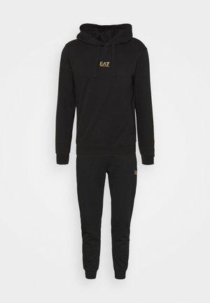 SET - Collegepaita - black/gold-coloured