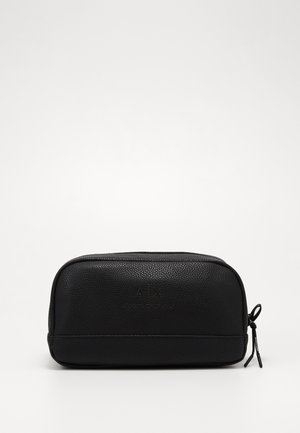 WASHBAG - Wash bag - black/gunmetal