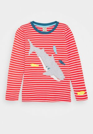 DISCOVERY APPLIQUE UNISEX - Longsleeve - koi red stripe