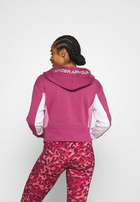 Under Armour - RIVAL HOODIE - Sweatshirt - pink quartz - 2