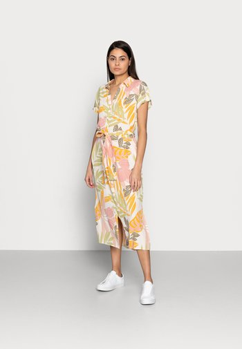 GABY DRESS - Shirt dress - birch botanic