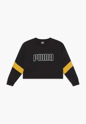 PUMA X ZALANDO GIRLS CREW - Sweater - black