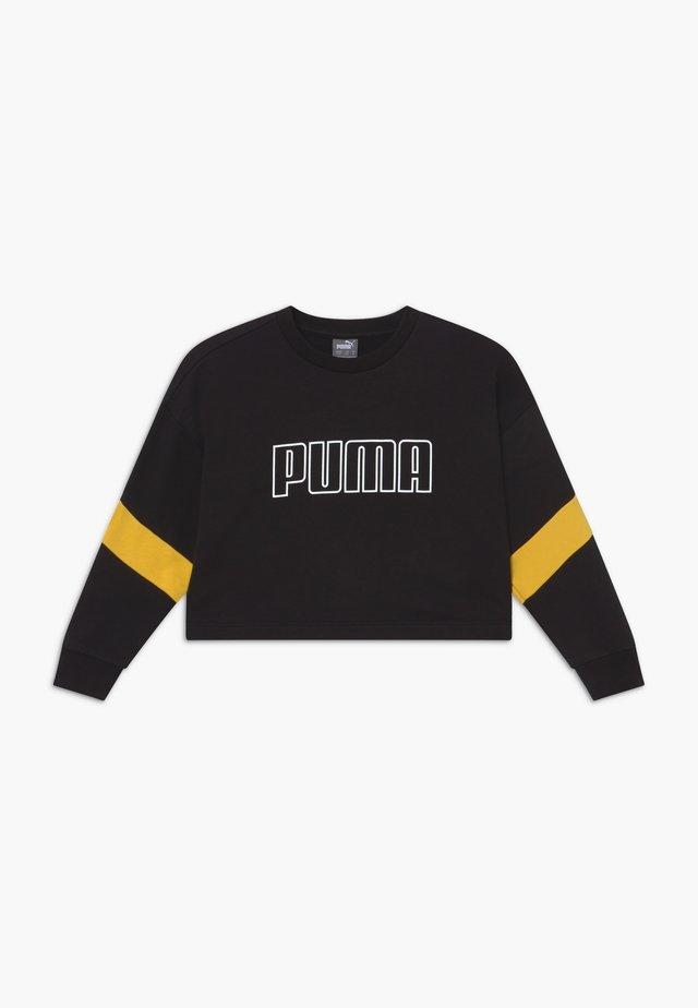 PUMA X ZALANDO GIRLS CREW - Sweatshirt - black