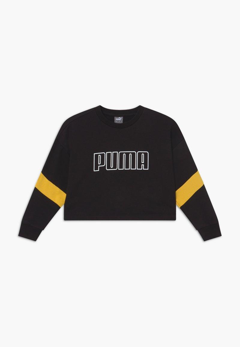 Puma - PUMA X ZALANDO GIRLS CREW - Sweatshirt - black