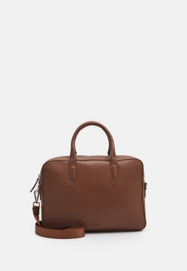 BRIEFCASE UNISEX - Aktentasche - tan