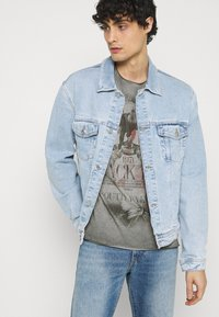 Key Largo - HILL ROUND - T-shirt con stampa - anthracite - 3