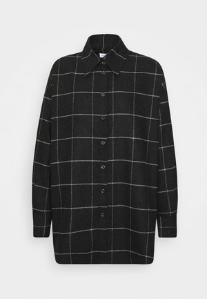 LONGBLUSE  - Button-down blouse - black beauty