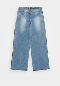 The New - RONINKA WIDE PANTS - Džíny Straight Fit - light blue denim - 1
