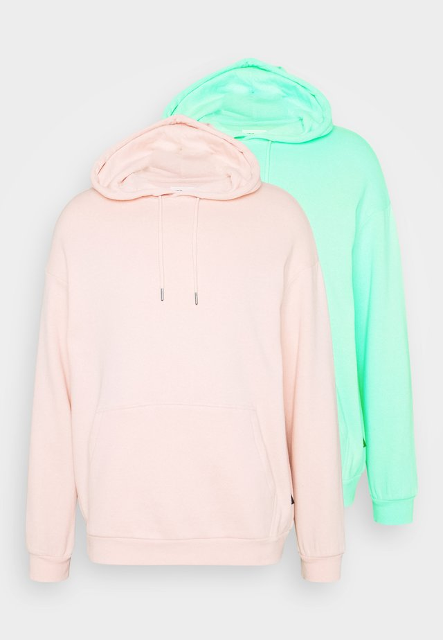 2 PACK UNISEX - Sweat à capuche - mint