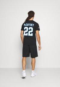 Fanatics - NFL CHRISTIAN MCCAFFREY CAROLINA PANTHERS ICONIC NAME & NUMBER  - Club wear - black - 2