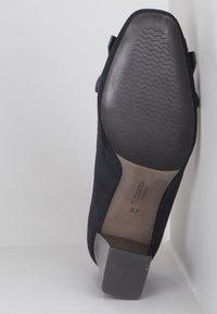TJ Collection - High heels - dark blue - 4