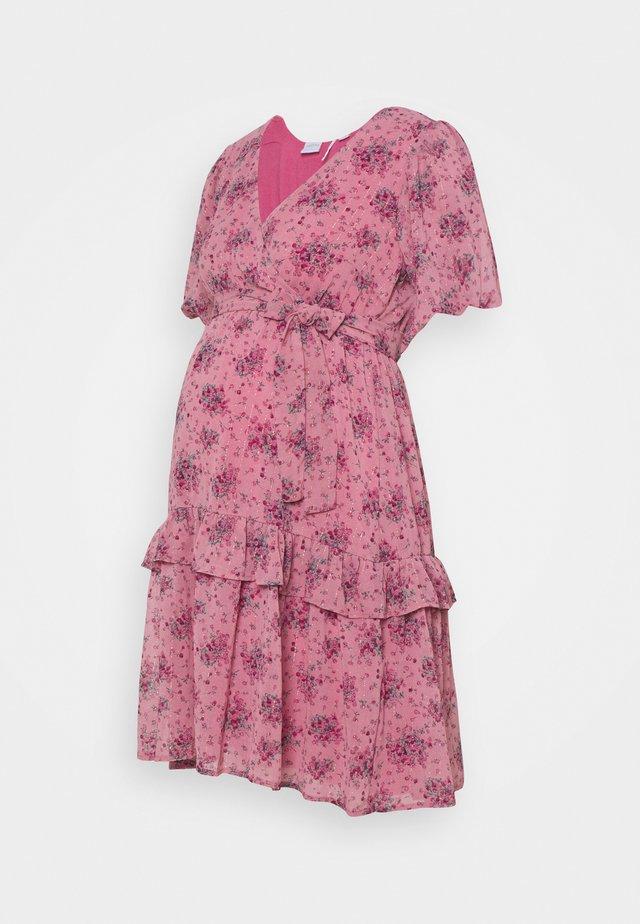MLSASSY SHORT DRESS - Denní šaty - rosebloom