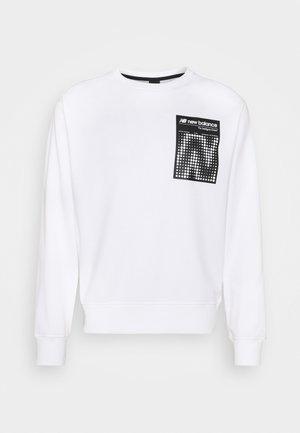 SPORT STYLE OPTIKS CREW - Sweatshirt - white