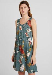 ONLY Tall - ONLELEONORA DRESS  - Day dress - balsam green - 0