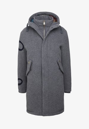 Down coat - grey