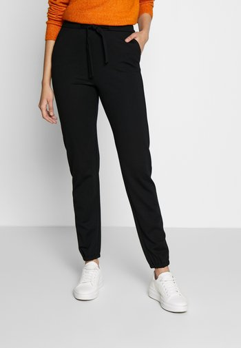 ONLPOPTRASH BELT PANT - Bukse - black