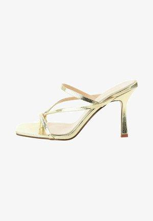 PANTALEO - Sandalen met hoge hak - gold