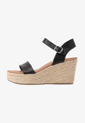 PICKLE - High heeled sandals - black