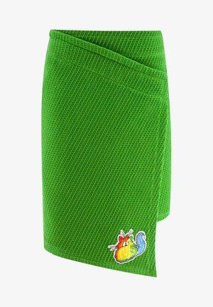 CAT - Wrap skirt - green