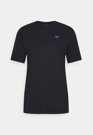 BASELINER MEN'S ICONIC REGULAR TEE UNISEX - T-shirt con stampa - black