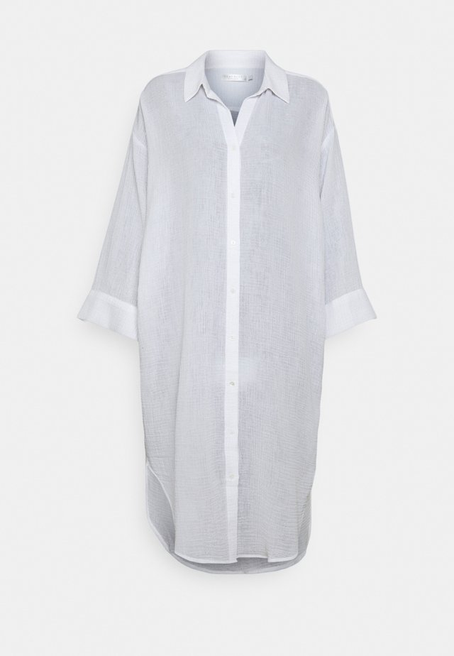 EDIT OVERSIZE BEACH COVER UP - Ranta-asusteet - white