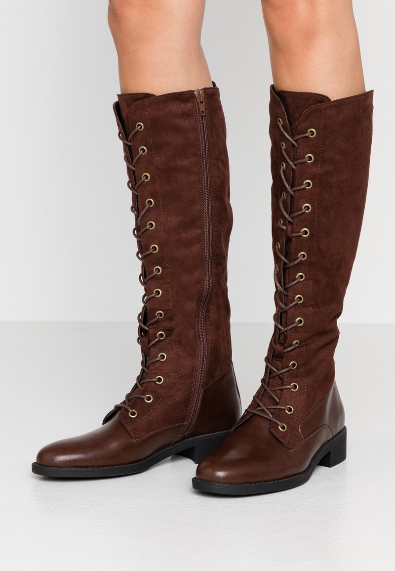 Anna Field - Schnürstiefel - brown