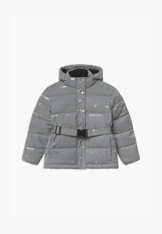 REFLECTIVE LOGO - Zimní bunda - grey