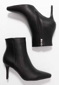 RAID - PRALINE - High heeled ankle boots - black - 3
