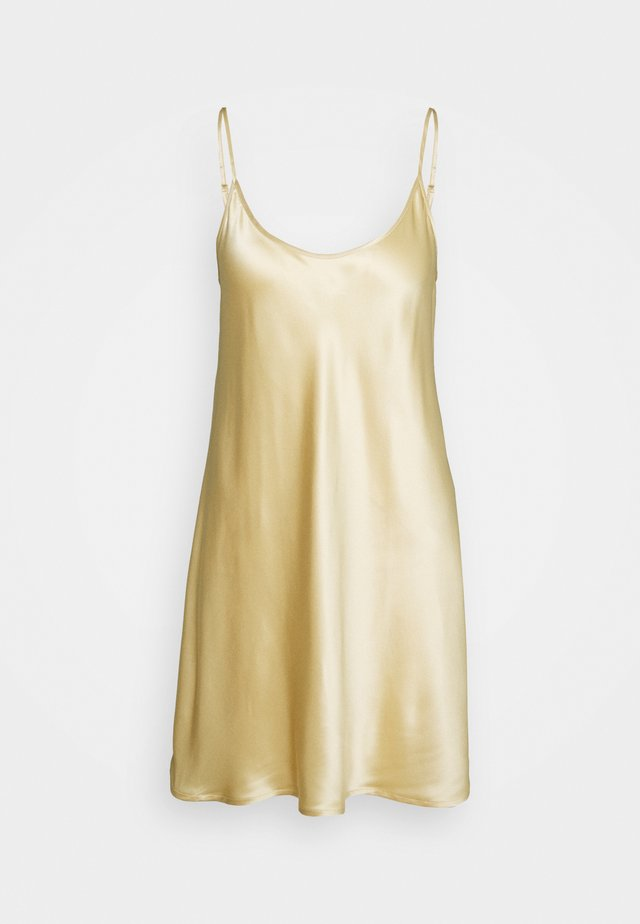 SHORT SLIPDRESS - Nightie - beige/stone
