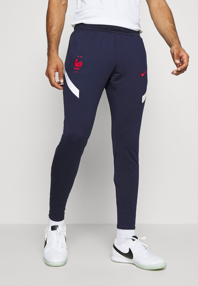 FRANKREICH FFF DRY PANT - Article de supporter - blackened blue/white/university red
