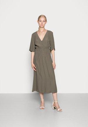 DRESS - Kjole - dark khaki