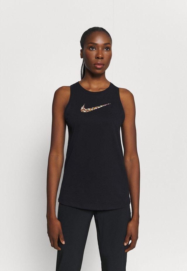 DRY TANK FEMME - T-shirt sportiva - black